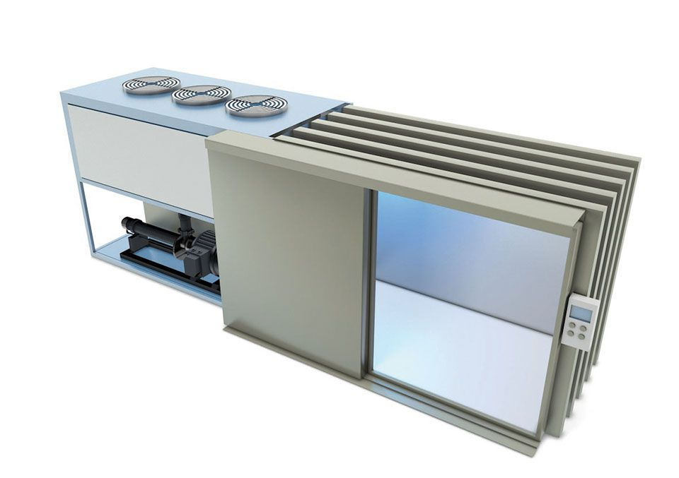 Weber Cooling Australia Compact Range Vacuum Cooler